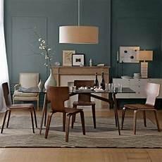 Wohnideen Wohnzimmer Farbe - esszimmer holz sitzgruppe kamin blaue wand farbe