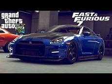 Nissan Gtr Fast And Furious - how to build the fast and furious 7 nissan gtr in gta 5