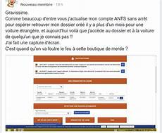 probleme ants immatriculation ants administration 2 0 ou z 233 ro point 233 christian