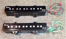 sold fender n3 quot noiseless quot 5 string pickup set talkbass com