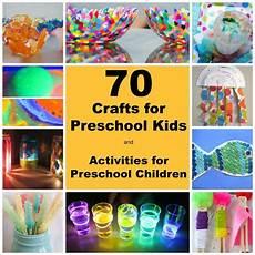 70 crafts for preschool kids and activities for preschool