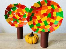 Herbst Basteln Kinder - herbstb 228 ume aus pappteller basteln mit kindern der
