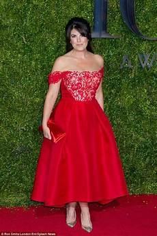 monica lewinsky dress monica lewinsky hits the tony awards red carpet