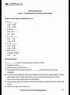 7th grade fractions and decimals grade 7 worksheets preschool k worksheets