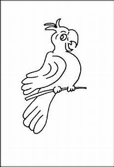 Malvorlage Papagei Einfach Malvorlagen Und Ausmalbilder Tieren Zum Ausdrucken