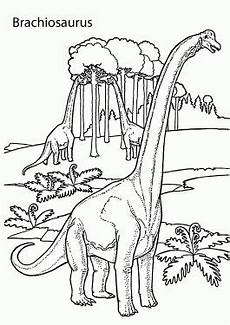 brachiosaurus realistic dinosaurs coloring pages for
