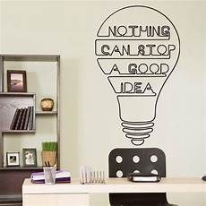 words for the wall home decor idea bulb words motivation quote wall decal home