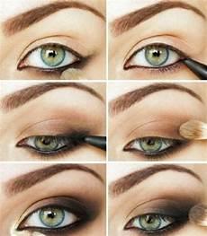 Make Up Richtig Auftragen - ber 252 hmte smokey make up richtig auftragen and