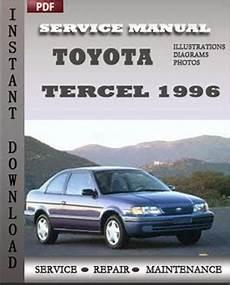 service repair manual free download 1993 toyota tercel engine control toyota tercel 1996 free download pdf repair service manual pdf