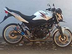 Modifikasi New Cb150r Pelek Jari Jari by Foto Motor Honda Modifikasi Cb150r Minimalis Fairing