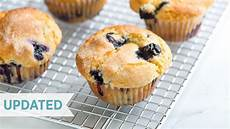 and easy blueberry muffin recipe how to make the