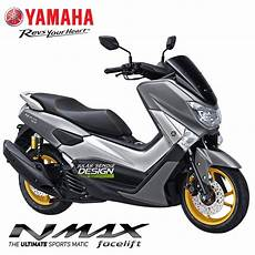 Modifikasi Nmax Abu Abu 2018 by Begini Next Yamaha Nmax 155 Facelift 2018