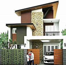 35 Inspirasi Model Desain Rumah Minimalis 2 Lantai Sederhana