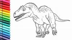 dinosaur coloring pages 17580 drawing and coloring dinosaurs allosaur from jurassic world dino color pages for