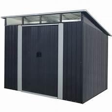 gartenhäuser aus metall gartenhaus aus metall 5 64m 178 skylight anthrazit
