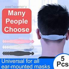 Bakeey Colorful Third Gear Adjustable Anti by Feliader 5pcs Third Gear Adjustable Anti Slip Mask Ear