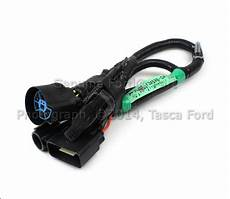 Oem 7 Pin Connector To Trailer Wiring Harness 05 07 Ford F