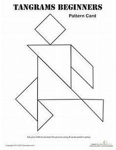 Tangram Kinder Malvorlagen Easy Free Tangrams Printables Shapes Math Math Classroom
