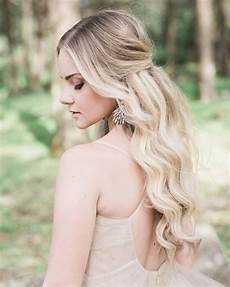 half up half down wedding hairstyles we love martha