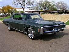 1969 Chevrolet Caprice Custom Coupe In Fathom Green