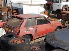r5 turbo abandonado b cars coche grupo b