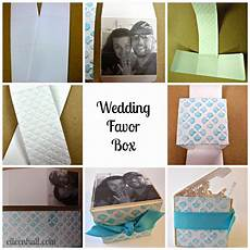 crafting ideas from sizzix uk diy wedding favor boxes