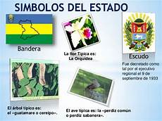 imagenes simbolos naturales del estado bolivar diapositivas region nororiental