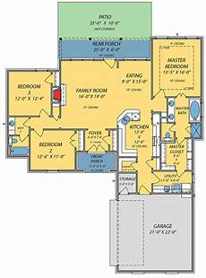 cajun style house plans acadian house plan with open floor plan 83865jw