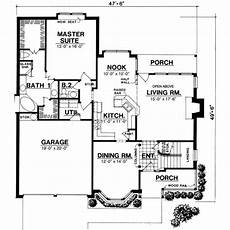 2000 sq ft bungalow house plans traditional style house plan 3 beds 2 50 baths 2000 sq