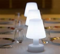Le De Table Led H25cm Sans Fil Rechargeable 49 Salon