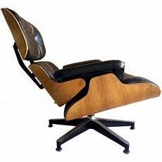 vintage rosewood chair and ottoman by eames for herman