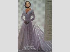 Demetrios gown 1995 in Brides Magazine   Gorgeous wedding