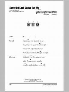 save the last dance for me sheet music direct