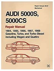 car repair manuals online free 1987 audi 5000cs lane departure warning audi 5000s 5000cs official factory repair manual 1984