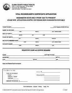 printable birth certificate application wa templates to submit online affidavit of birth