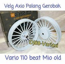 Variasi Motor Mio Sporty by Velg Racing Axio Ring 14 Gerobak Mio Smile Mio Sporty Beat
