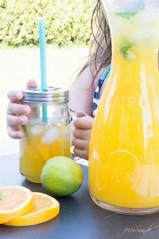 Erfrischende Orangen Limonade Einfach Selber Machen