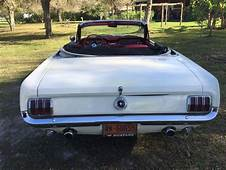 1964 1/2 MUSTANG CONVERTIBLE D CODE 4 SPEED CLASSIC AND