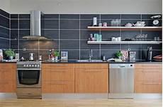 Large Tile Kitchen Backsplash Where Ends Meet Tithof Tile Marble
