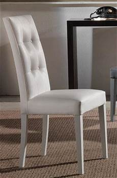 lot de 2 chaises design italienne four seasons en tissu