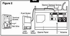garage door opener sensor wiring craftsman garage door opener sensor wiring diagram