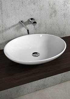 rubinetti alti lavabo appoggio lavabo ovale 59 da appoggio lil4b59001 bagno italiano