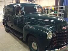 1950 Chevy Panel Van For Sale  Chevrolet 1 Ton