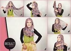 Gambar Tutorial Pashmina Chiffon Modernhijab77