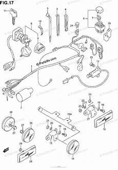 80 280zx harness pinout diagram suzuki atv 2003 oem parts diagram for wiring harness partzilla
