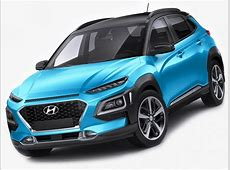 Hyundai Kona 2018 3d model   CGStudio
