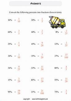 basic percents percentage printable grade 5 math worksheet