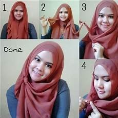 Tutorial Pashmina Untuk Kebaya Modern Jilbab Gucci