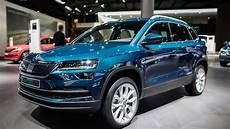 Skoda Karoq - auto show 2017 skoda karoq 2 0 tdi 4x4 review