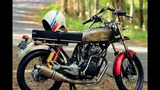 Honda Cb 100 Modif by Honda Cb 100 Racing Modifikasi Mesin Jahat Scorpio Jogja